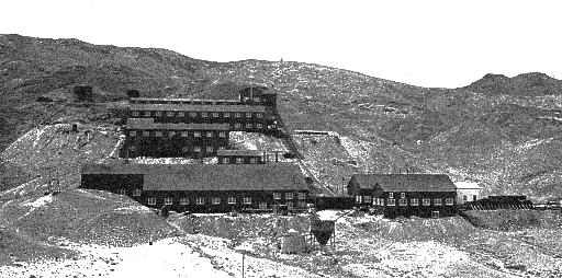 Located in Blair, Nevada the Pittsburg-Silver Peak Gold Mining Mill
